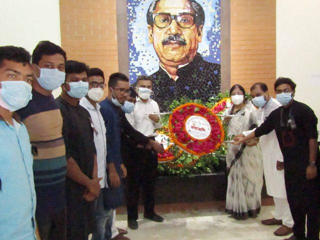ময়মনসিংহ মেডিকেল কলেজের উদ্যোগে জাতীয় শোক দিবস পালন